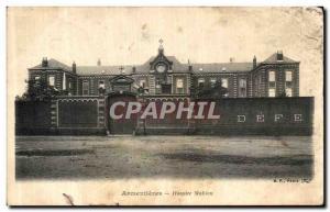 Old Postcard Armentieres Hospice Mahieu