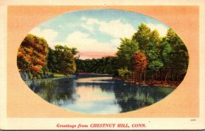 Connecticut Greetings From Chestnut Hill