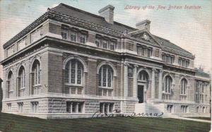 Library of the New Britain Institute, Connecticut, PU-1907