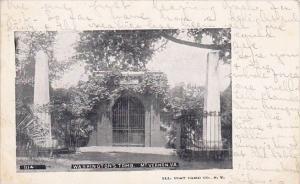 Virginia Mount Vernon Washington's Tomb 1905