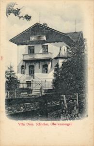 Oberammergau , Baviria , Germany , 00-10s ; Villa Dom. Schilcher