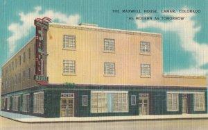 LAMAR , Colorado , 1930-40s ; The Maxwell House