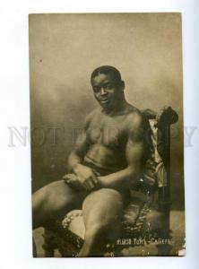 147561 Tom SAWYER Black Strongman WRESTLER athlete photo