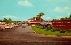 Florida Jacksonville Naval Air Station Entrance 1967
