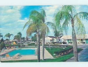 Unused Pre-1980 MOTEL SCENE Lake Wales Florida FL G7141