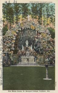 CULLMAN, Alabama, 1930-1940s; Ave Maria Grotto, St. Bernard College