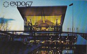 Canada Montreal Expo 67 Soviet Union Pavilion
