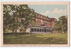 St Dunstan's U, Charlottetown PEI