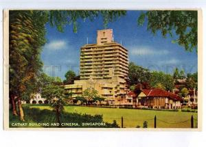 221995 SINGAPORE Cathay building & Cinema Old postcard