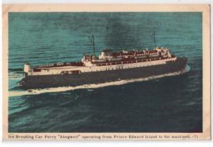 Car Ferry Abegweit, PEI