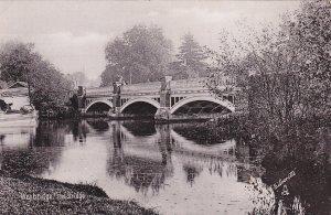 WEYBRIDGE , England , 00-10s ; The Bridge ; TUCK 1952