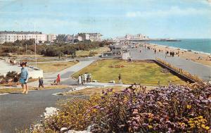 Southsea, The Promenade, animated beach, strand, ship, pier
