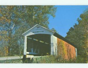 Unused Pre-1980 BRIDGE SCENE Rockville Indiana IN HQ9094
