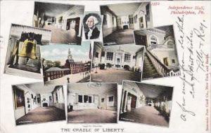 Pennsylvania Philadelphia Indepndence Hall The Cradle Of Liberty 1906 Artvue