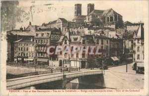 Old Postcard Verdun - Bridge Street and Beaurepaire
