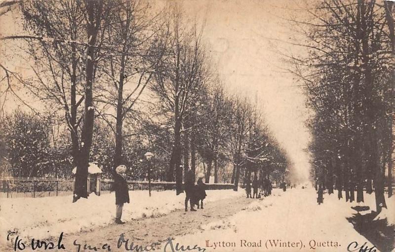 Pakistan? Quetta Lytton Road (Winter)