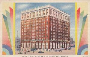 KANSAS CITY , Missouri , 1930-40s ; Hotel Muehlebach