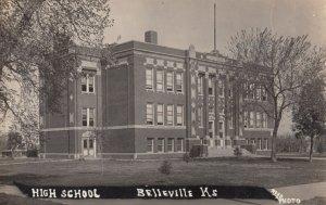 RP: BELLEVILLE , Kansas , 1924 ; High School