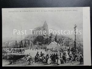 c1918 (Levy) la Reine Victoria et de S. M. Louis-Philippe au Treport (2Sept1843)