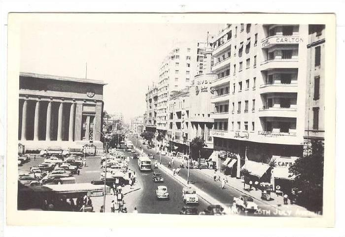 RP; Cairo , Egypt , 20-40s ; 26th July Avenue