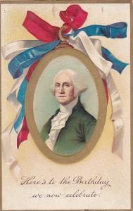 George Washington Here's To His Birthday 1911