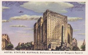 Hotel Statler on Delaware Avenue - Buffalo NY, New York - Linen
