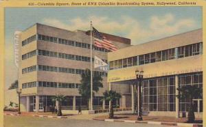 Columbia square, Home of KNX Columbia Broadcasting system, Hollywood, Califor...