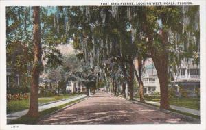 Florida Ocala Fort King Avenue Looking West