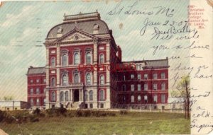 pre-1907 CHRISTIAN BROTHERS COLLEGE, EASTON AVE., ST. LOUIS, MO. 1908