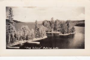 RP: The Island , Babine Lake , B.C. , Canada , 1952