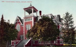 State Normal School, Ashland, Oregon, Early Postcard, Unused