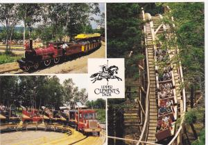 Roller-coaster,  water rides and lively entertainment,  Upper Clements Park, ...