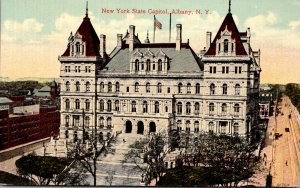 New York Albany The State Capoitol