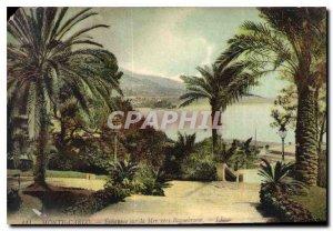 Old Postcard Monte Carlo Echappee Sea to Roquebrune