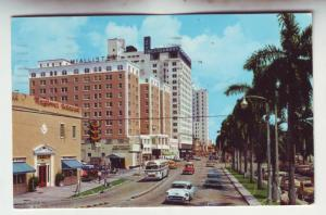 P1091 1958 used biscayne blvd old cars signs etc miami florida