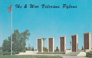 Kansas Abilene Pylons Near Eisenhower Museum