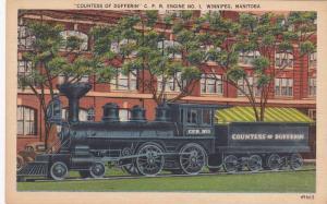 Counters of Dufferin C.P.R. Engine No. 1, Winnipeg, Canada, 30-40s