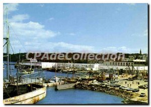 Modern Postcard Douarnenez port