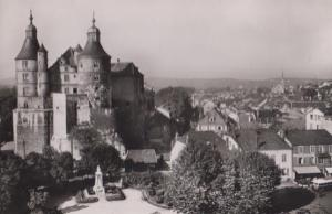 Montbeliard Grands Jardins Aerial French Real Photo Postcard