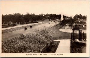 Buenos Aires, Palermo, Avenida Alvear Vintage Photo Postcard H22