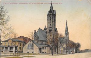 Lansing Michigan~YWCA Building~Presbyterian & Congregational Churches~c1910 Pc