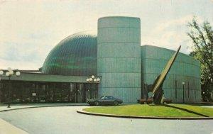 ROCHESTER, NY New York  STRASENBURGH PLANETARIUM~East Avenue  Chrome Postcard