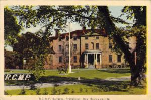 RP; Hand-Tinted, R.C.M.P. Barracks, Fredericton, New Brunswick, Canada, PU