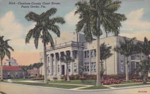Charlotte County Court House, Punta Gorda, Florida, 30-40s
