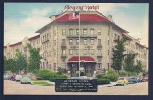 Alcazar Hotel Cleveland Heights Ohio unused c1950