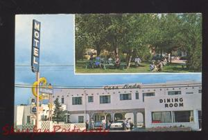 GALLUP NEW MEXICO ROUTE 66 NEW CASA LINDA MOTEL VINTAGE ADVERTISING POSTCARD