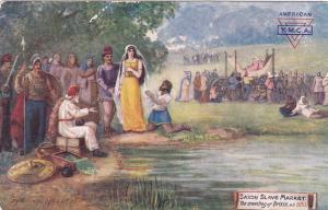 Saxon Slave Market , The unveiling of Britis, England, 1900-1910´s; TUCK 9623 ;