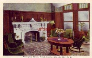 MAHOGANY ROOM, HOTEL DENNIS. ATLANTIC CITY, NJ  H. B. Smith, photo