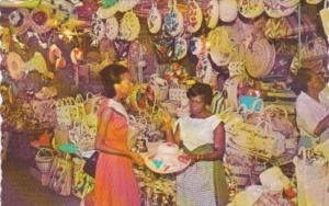 Jamaica Kingston Straw Section Of Victoria Crafts Market 1970