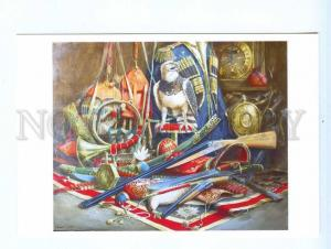 252606 ADVERTISING painting Khilko Still Life an eagle